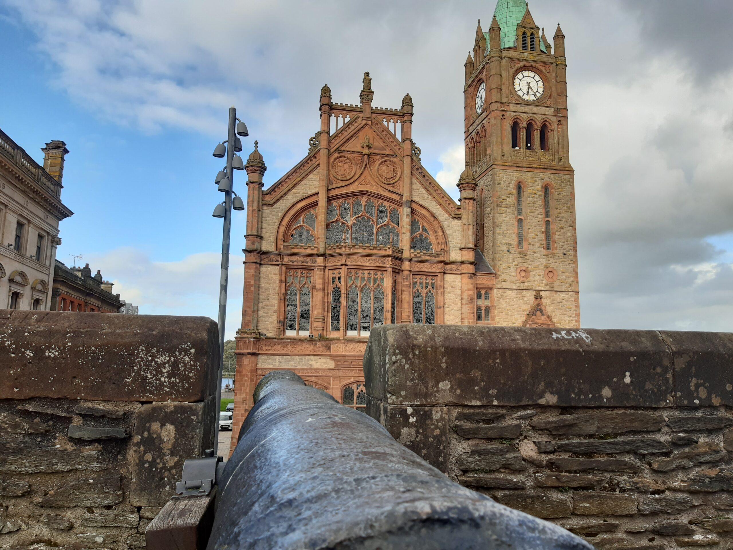 The Derry Walls taken by a student